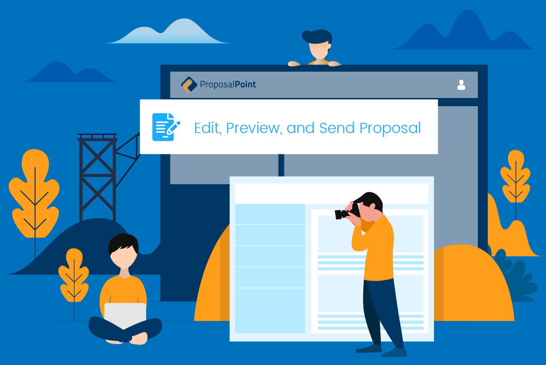 ProposalPoint Training Video 9: How to Edit, Preview, and Send Proposal