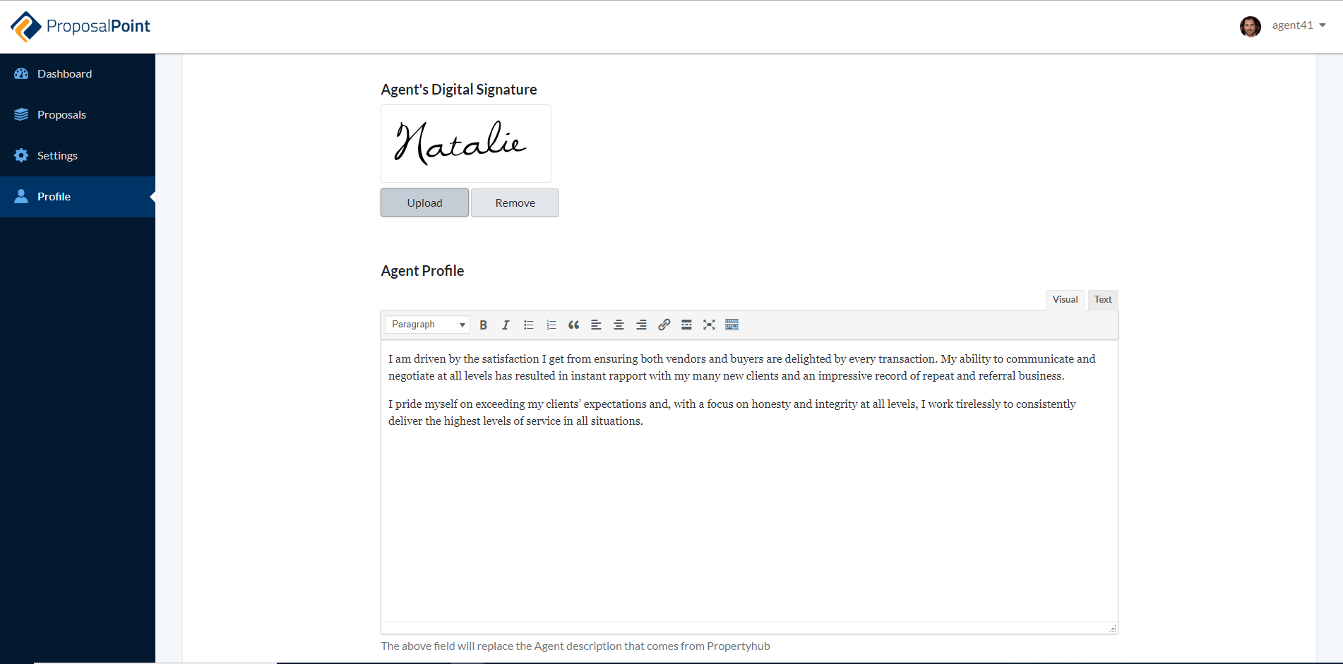 New Feature: Add Signature Image to Profile