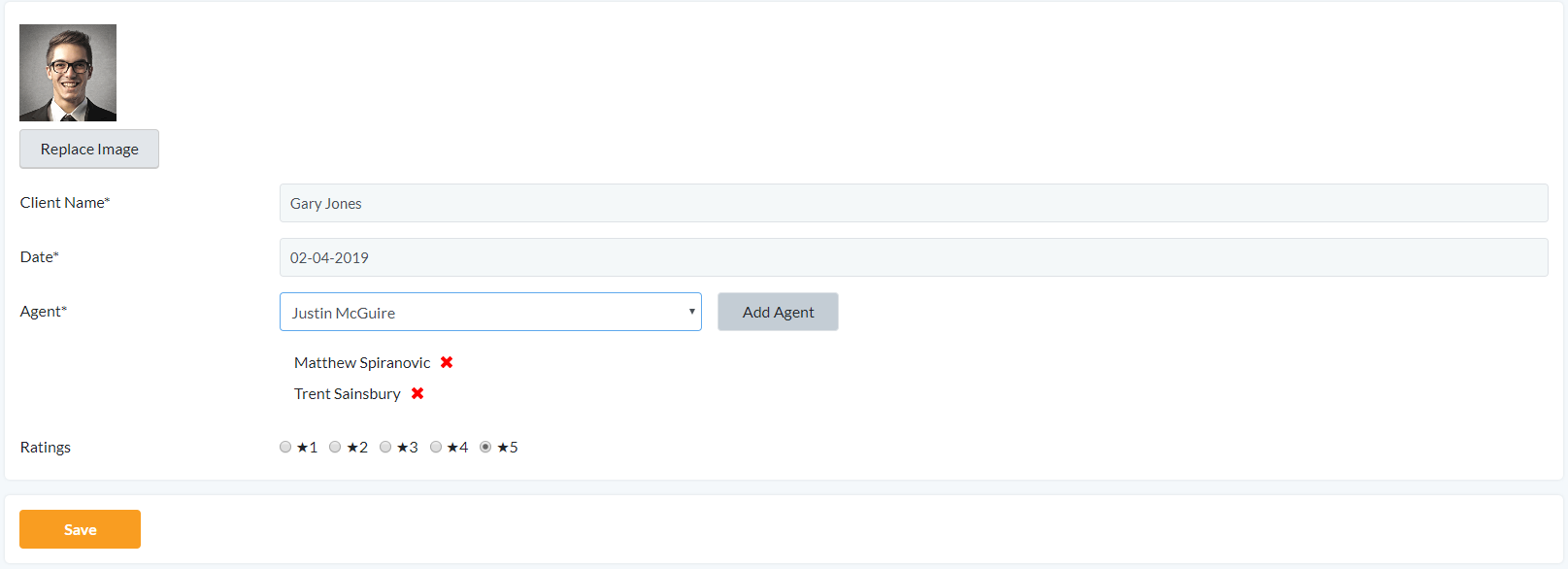 New Feature: Select multiple agents for testimonials