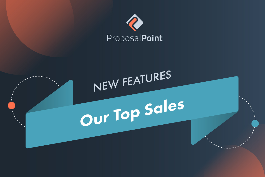 New Feature: Our Top Sales